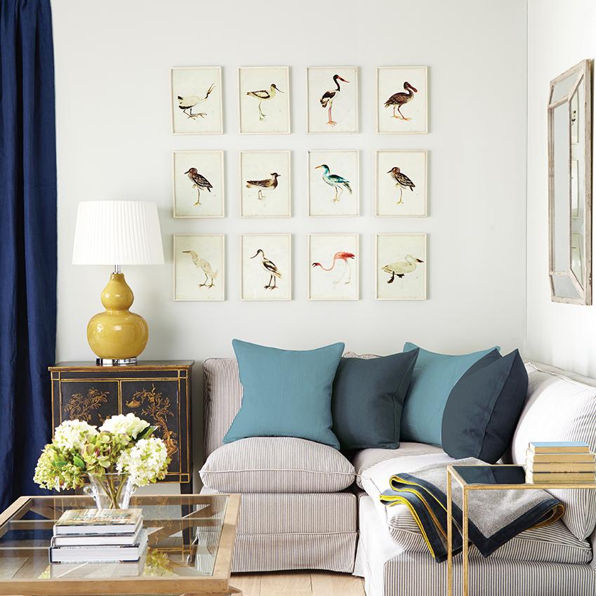 ELLE Decoration UK | FRAMED BIRD PRINTS BY OKA