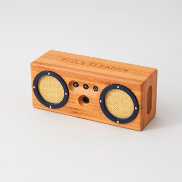When craft meets technology: 'Bongo' Bluetooth speaker by Otis & Elemeanor, £90