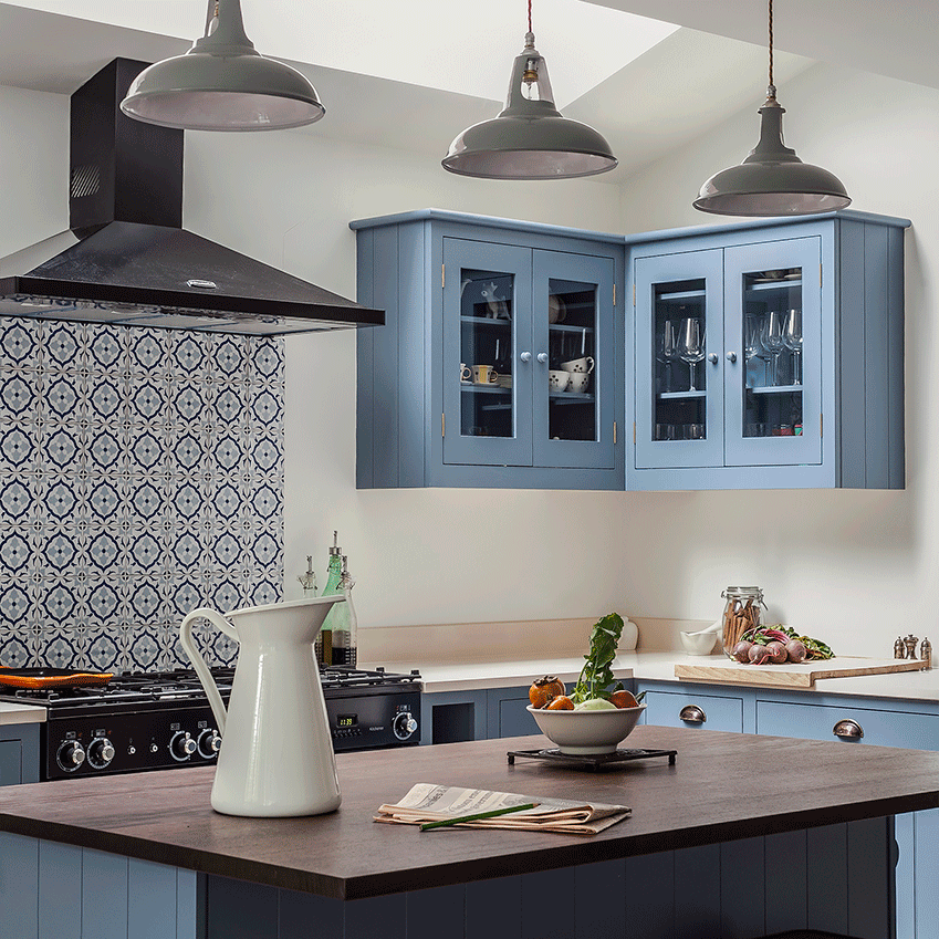 Elle decoration uk moroccan inspired kitchen Moroccan inspired kitchen design