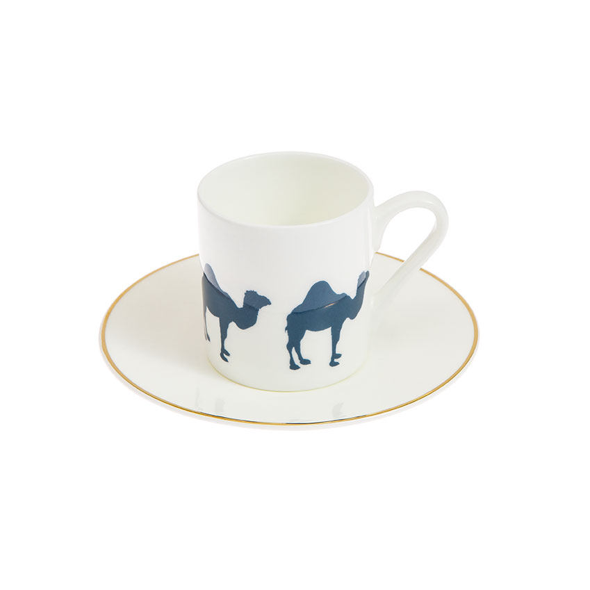 Coffee cup and saucer, £28