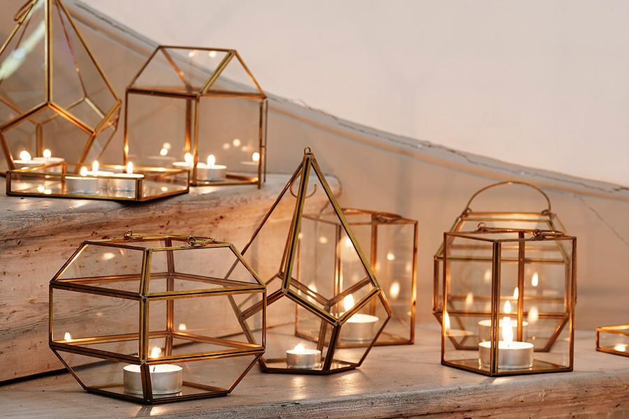 Elle Decoration Uk Lanterns And Terrariums By Oliver Bonas