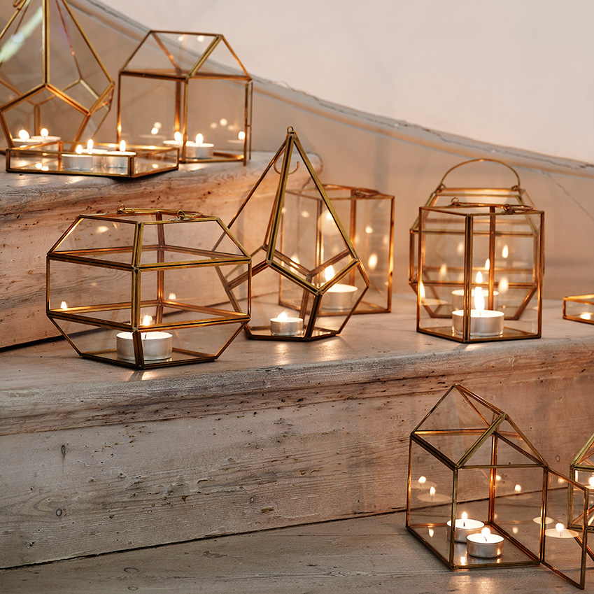 Elle Decoration Uk Lanterns And Terrariums By Oliver Bonas