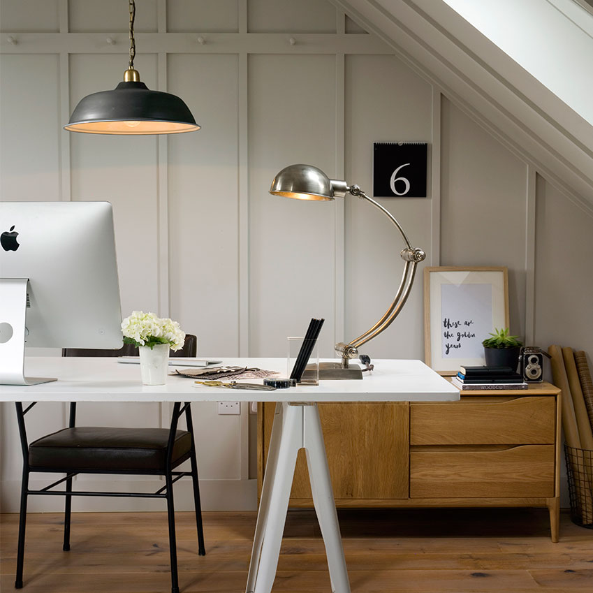home office lighting from pooky elle decoration uk