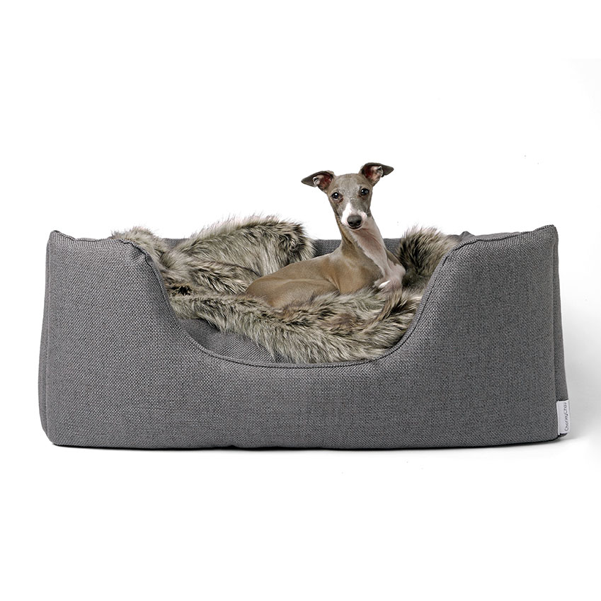 'Deeply Dishy' dog bed, £115, Charley Chau