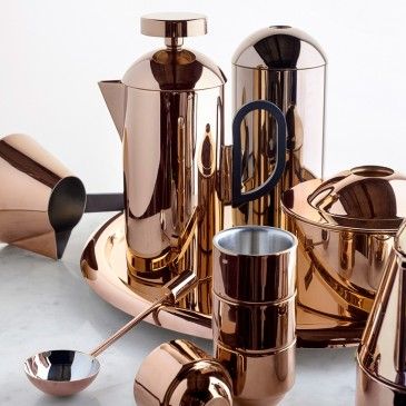 "The Tom Dixon ""Brew"" coffee set. From £95 for a set of four espresso cups."