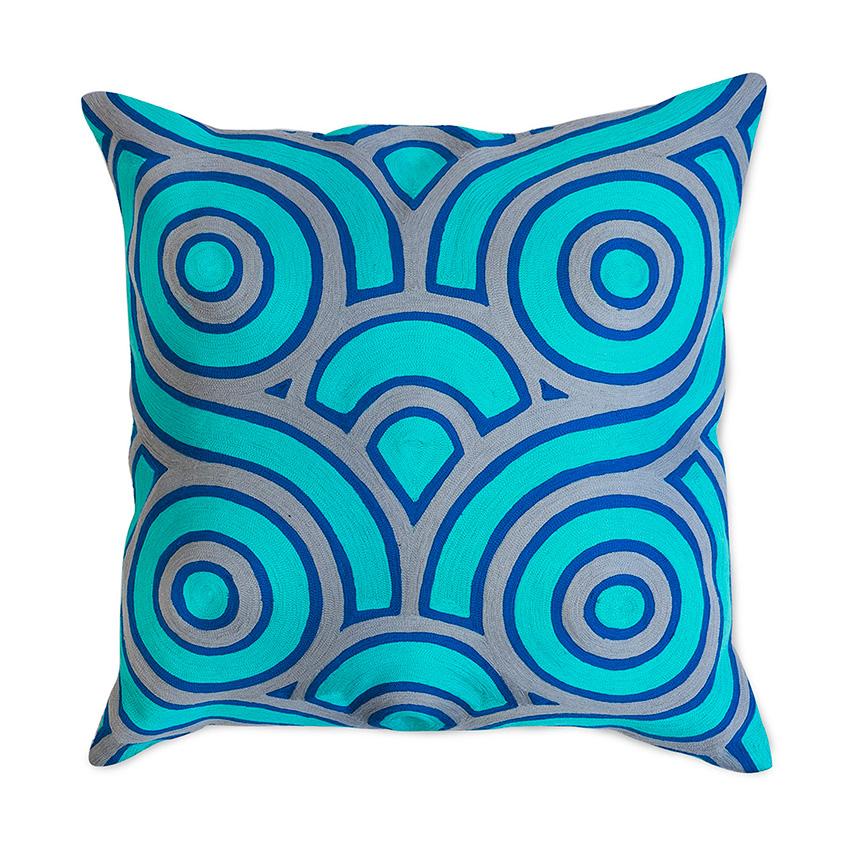 'Jaipur Braid' cushion, £225, Jonathan Adler (jonathanadler.com)