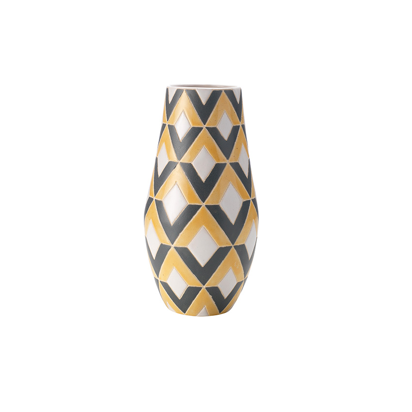 Printed vase by Christiane Lemieux, £30, House of Fraser (houseoffraser.co.uk)
