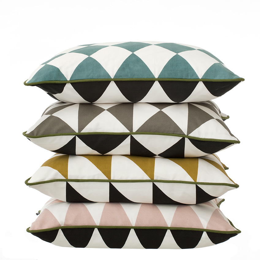 'Little Geometry' cushions, £30 each, Ferm Living (fermliving.com)