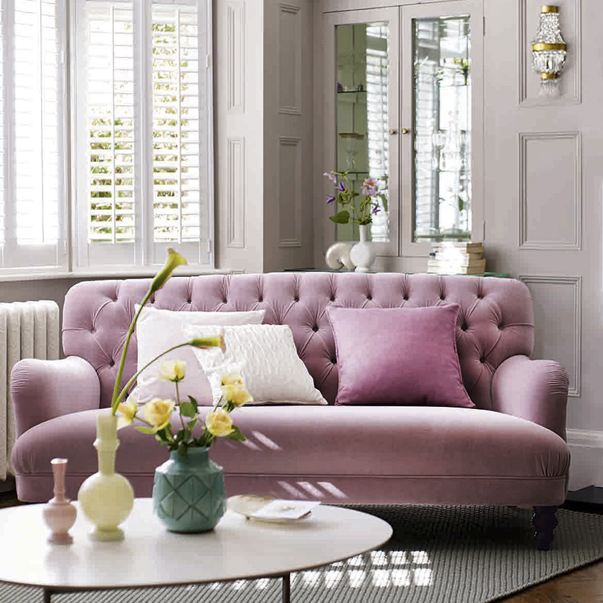 Velvet Is A Key Textural Trend This Autumn And We Love Bailey Sofa Designed By The Work In Collaboration With Dfs