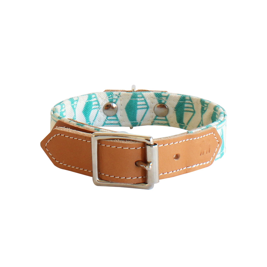 Geometric-print dog collar by Hiro + Wolf, from £27.50, Style Tails (styletails.com)