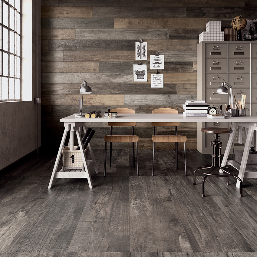 How to lay wood-effect tiles | ELLE Decoration UK