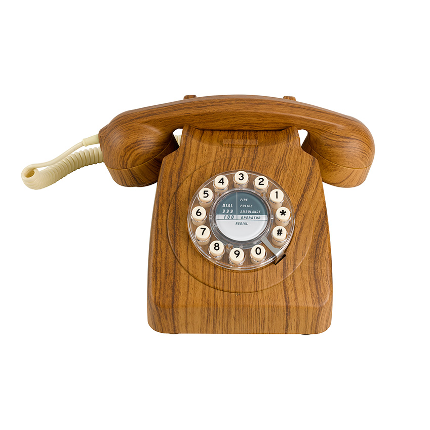 Wooden Telephone By Wild Amp Wolf