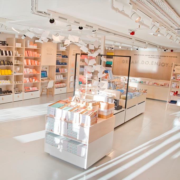 Kikki K Stationery Shop Opens In London Elle Decoration Uk