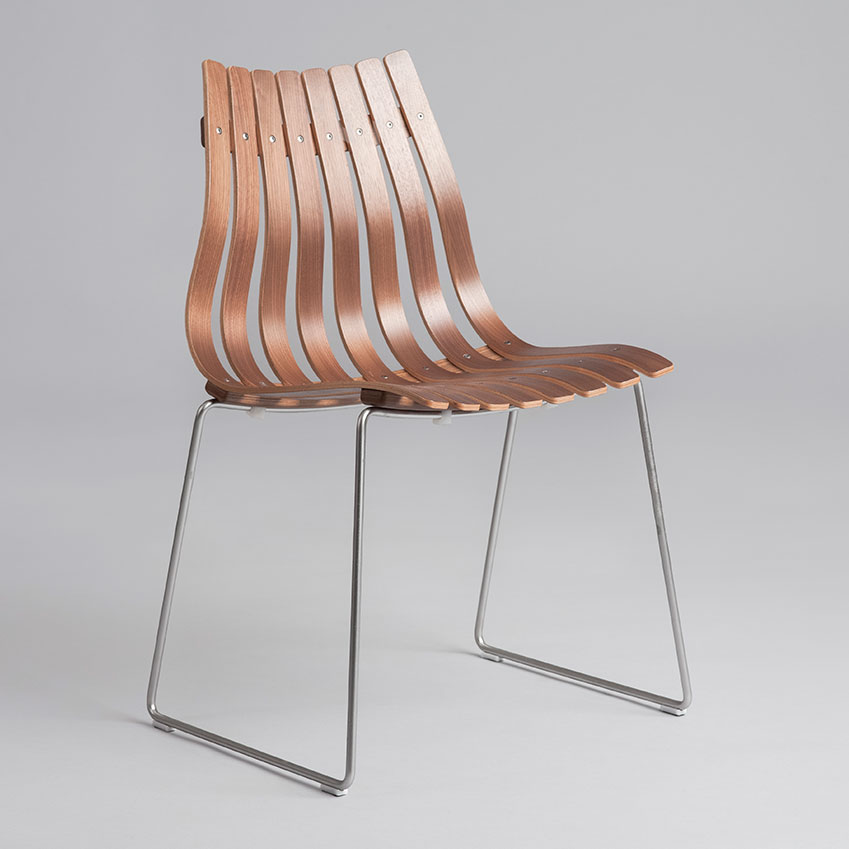 'Scandi Junior' chair by Hans Brattrud (1957–1959)