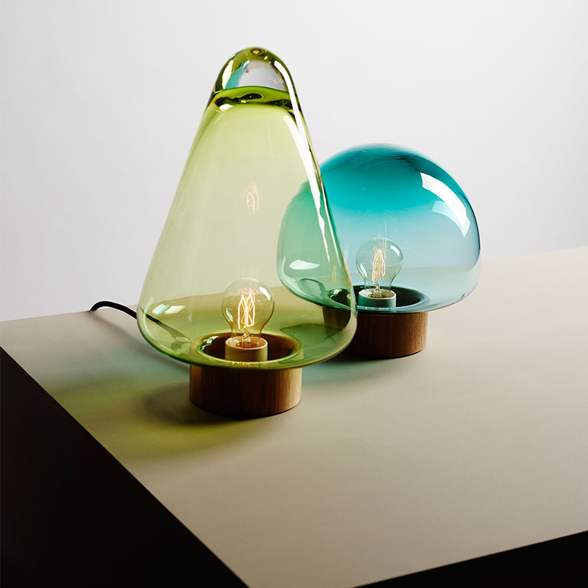 'Skog' table lamps by Caroline Olsson