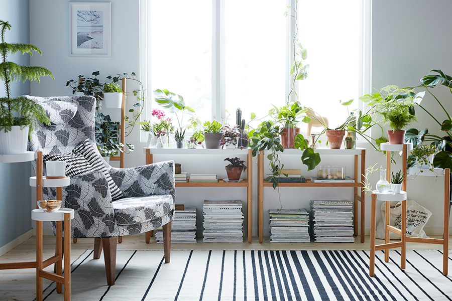 Style up an indoor garden with a little help from the new 'Satsumas' collection by Ikea.