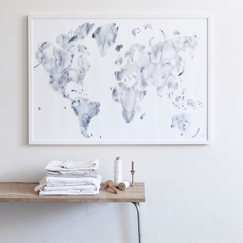 'Blue World' by Silke Bonde, from £69