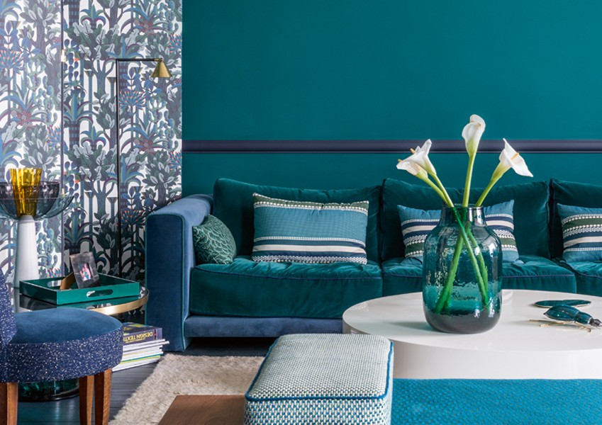 Our April 2016 cover star was a picture perfect project in shades of teal'n'blue.
