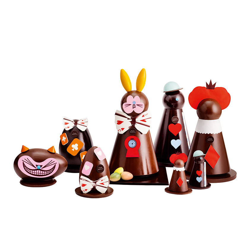 Luxury easter gifts elle decoration uk easter in wonderland figurines from 1390 for the queen of hearts negle Image collections
