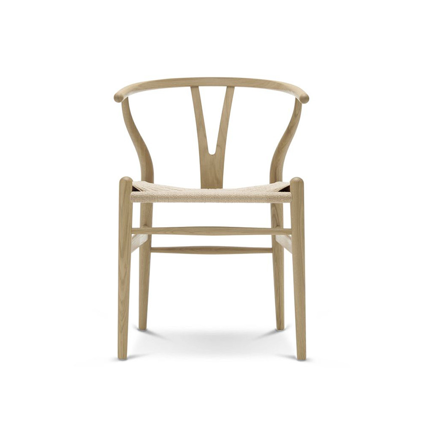 wishbone chair by carl hansen son elle decoration uk