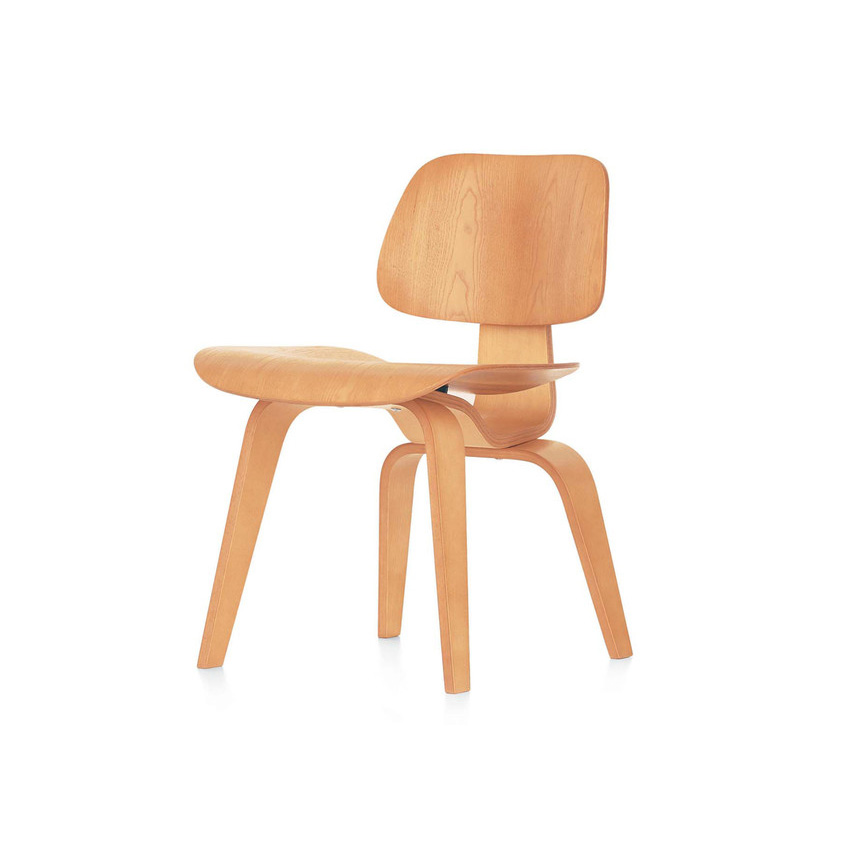 DCW chair by the Eames' for Vitra. £1,100, Clippings