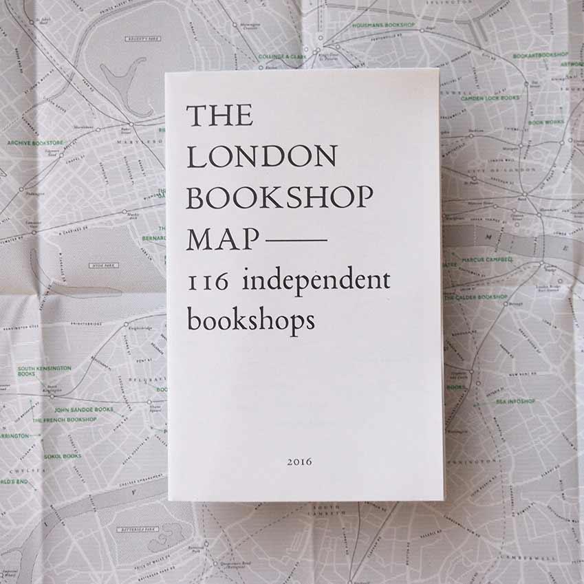The London Bookshop Map