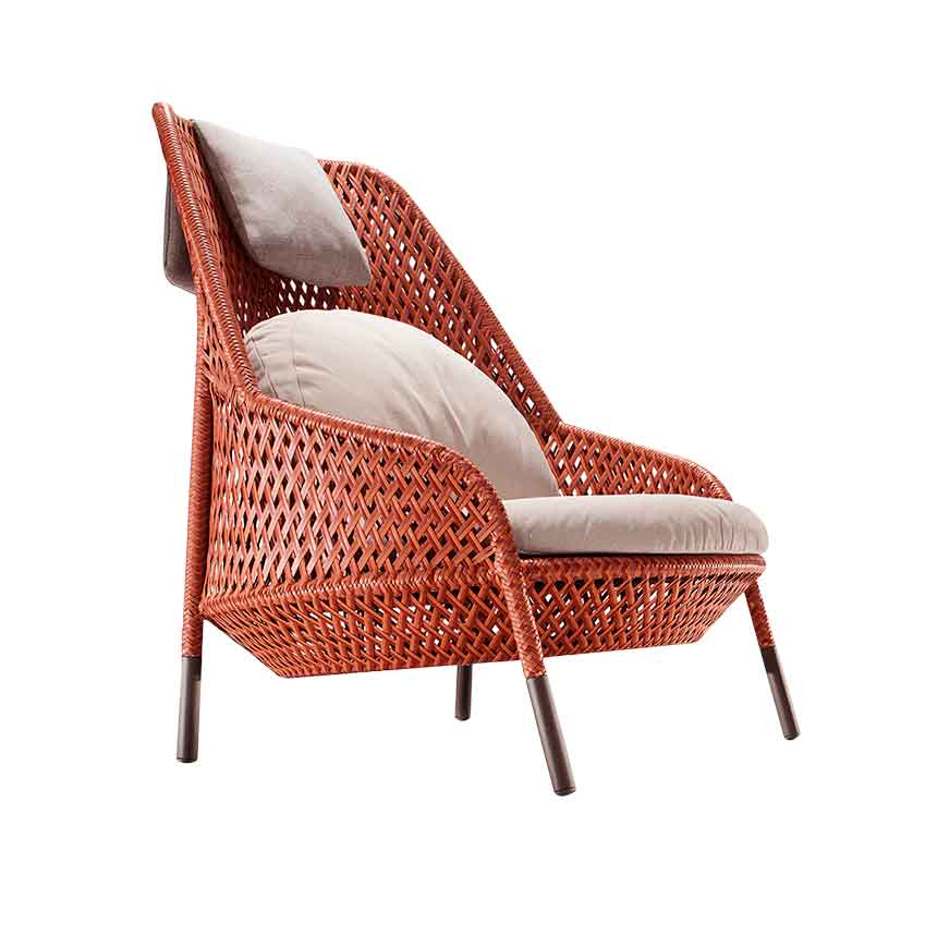 'Ahnda' chair by Stephen Burks for Dedon, £3,042 as pictured, Leisue Plan (leisureplan.co.uk)