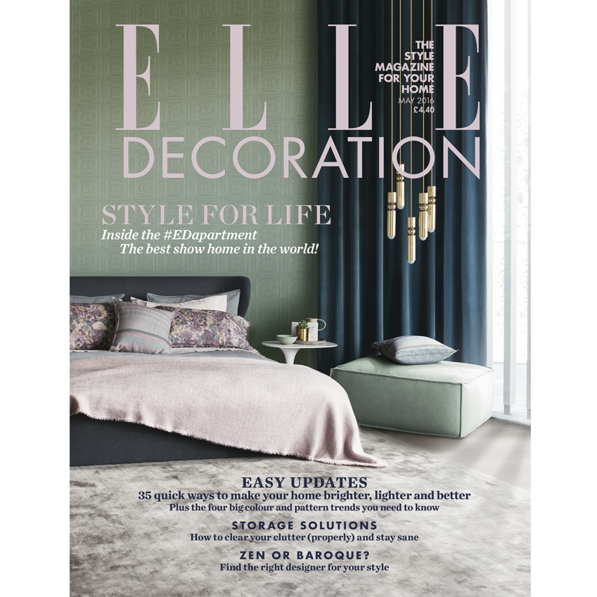 May 2016 Elle Decoration Uk