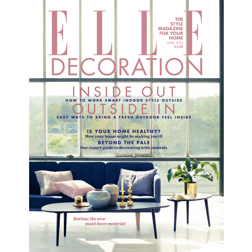 June 2016 Elle Decoration Uk