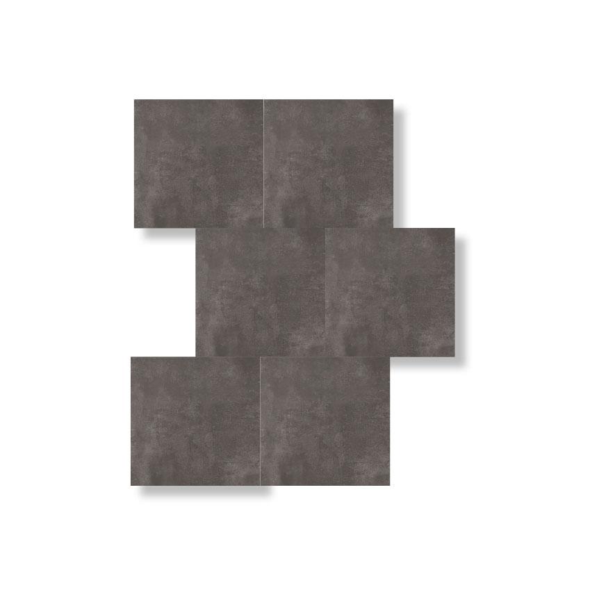 'Cemento Dark Grey Matt' porcelain tiles, £42 per square metre, Mandarin Stone (mandarinstone.com)