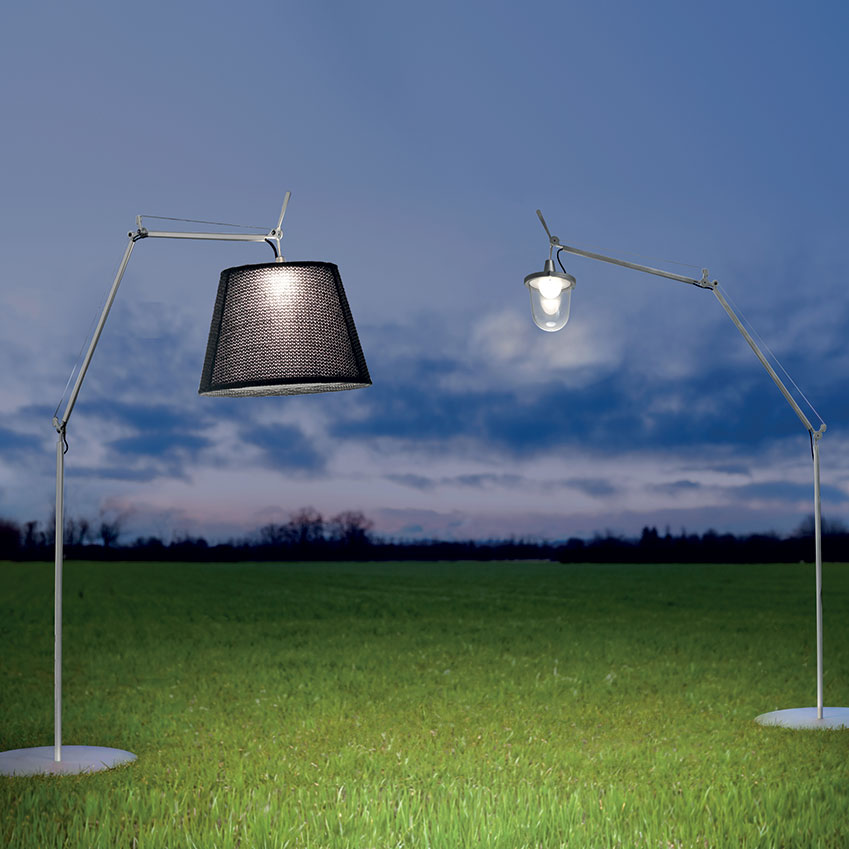 tolomeo outdoor lighting by artemide elle decoration uk. Black Bedroom Furniture Sets. Home Design Ideas