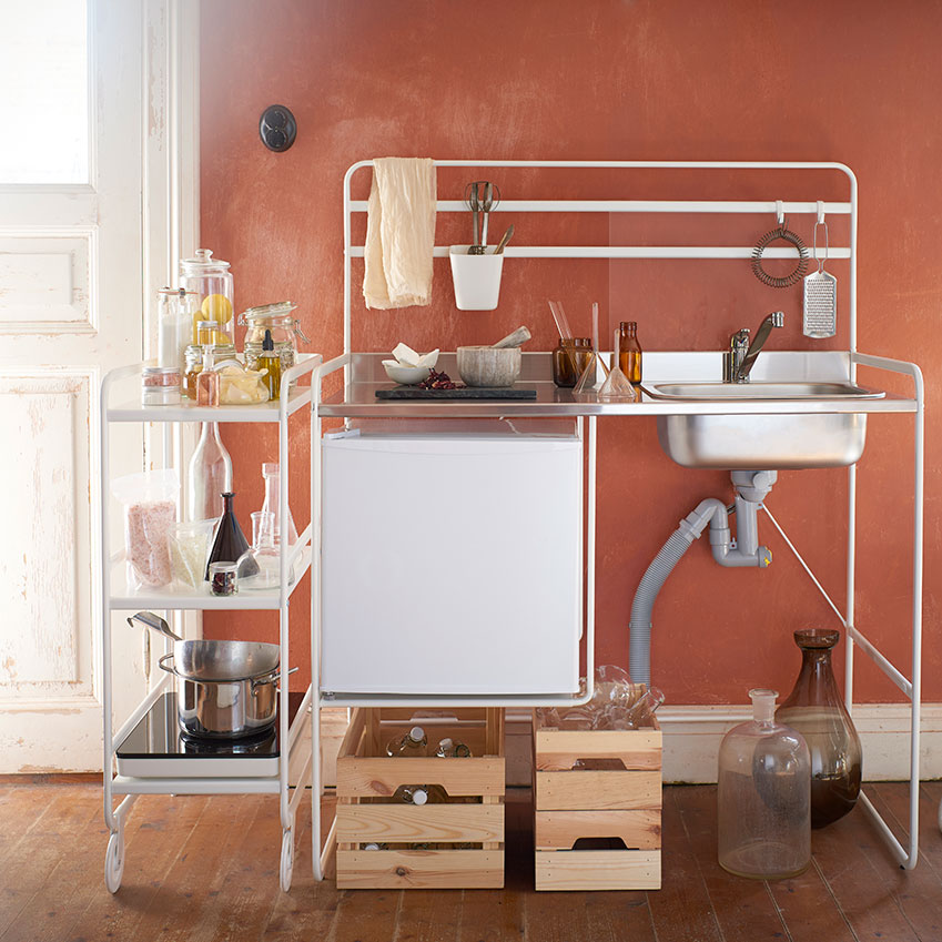 Sunnersta Portable Kitchen By Ikea Elle Decoration Uk
