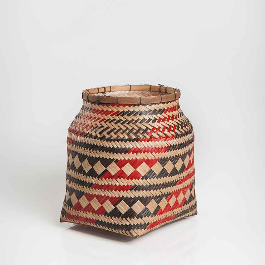 Basket by Venezuelan Guarekena women, £45 (maisonnumen.com)